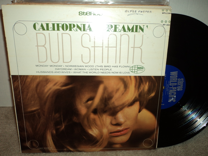 Bud Shank & Chet Baker - California Dreamin' NM Vinyl / VG++ Cover