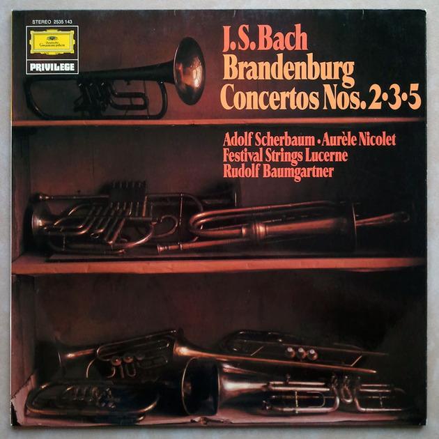 DG | SCHNEIDERHAN/BAUMGARTNER/BACH - Brandenburg Concertos Nos. 1 - 6 / 2-LP / NM