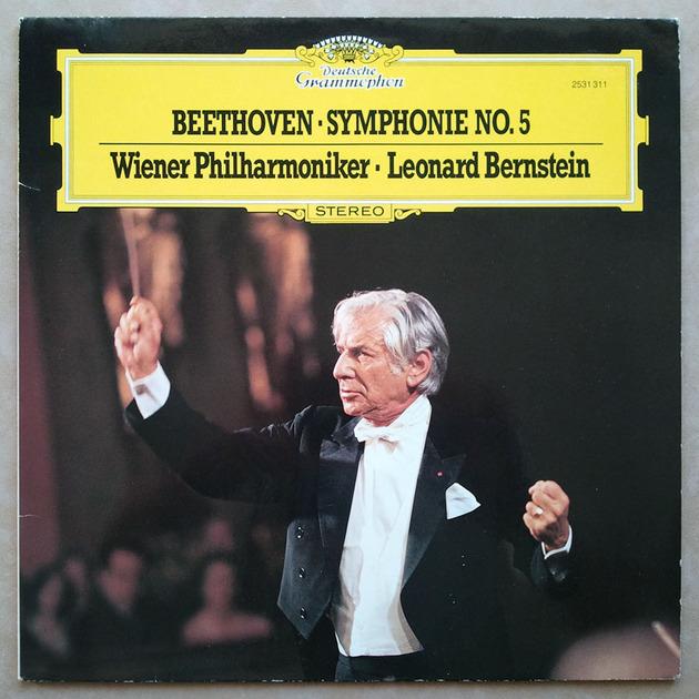 DG   BERNSTEIN/BEETHOVEN - Symphony No. 5 / NM
