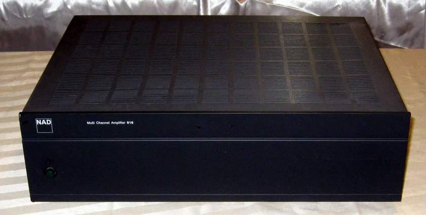 NAD 916 6 channel bridgeable power amplifier