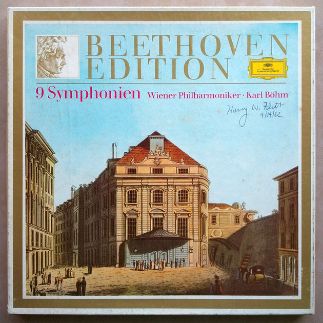 DG | BOHM/BEETHOVEN - The Nine Symphonies / 8-LP Box / NM
