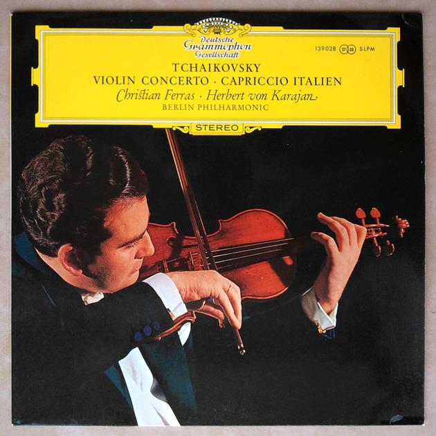 DGG | CHRISTIAN FERRAS/KARAJAN/TCHAIKOVSKY - Violin Concerto / NM