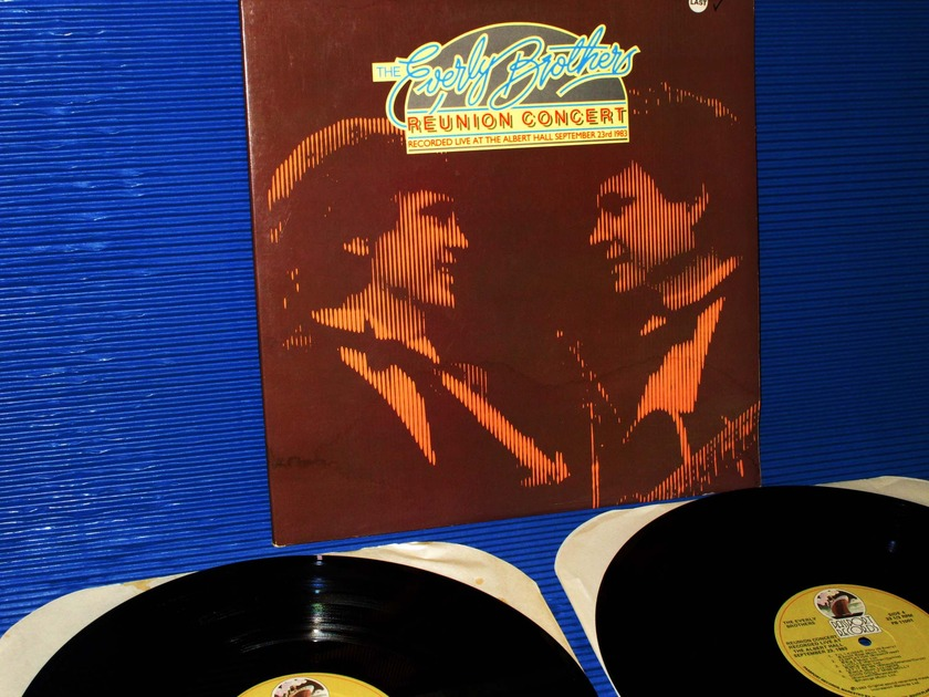 """THE EVERLY BROTHERS -  -  """"Reunion Concert"""" -  Passport Records 1983 2 LP's"""