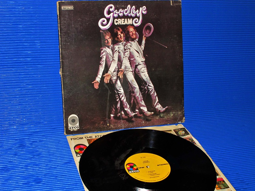 "CREAM - - ""Goodbye"" -  ATCO 1969 1st pressing Side 2 Hot Stamper"