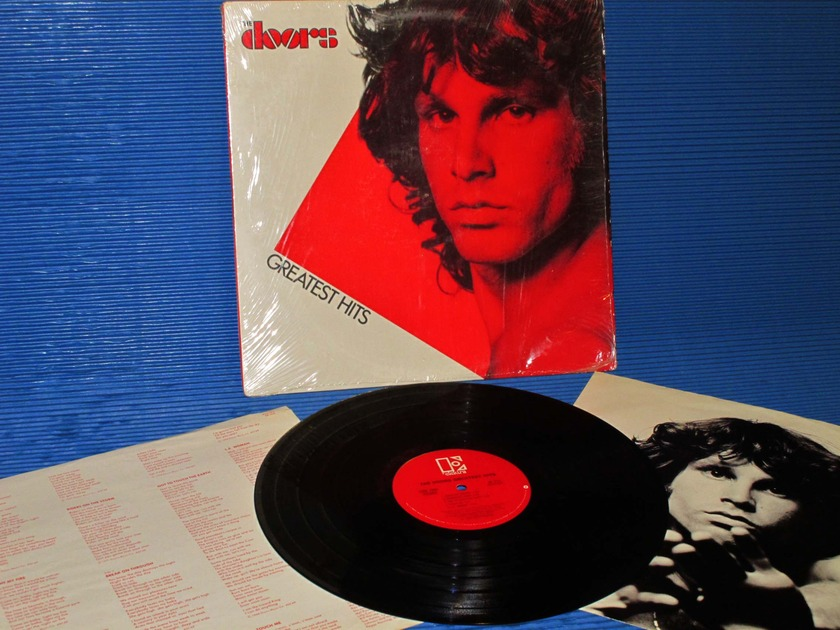 """THE DOORS -  - """"Greatest Hits"""" -  Elektra 1980 no B/C"""