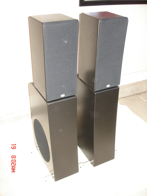 NHT Evolution  T5 Complete System T5 / M5 /  P5-M5's