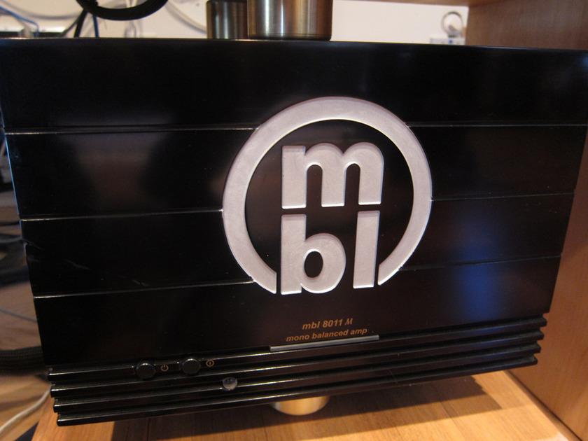 MBL 8011am Mono Amps Incredible Performance