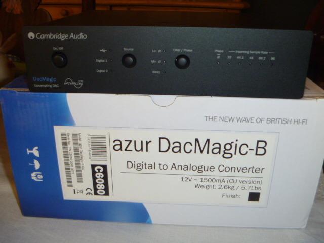 Cambridge Audio  DacMagic Cambridge Audio DacMagic Dac Magic