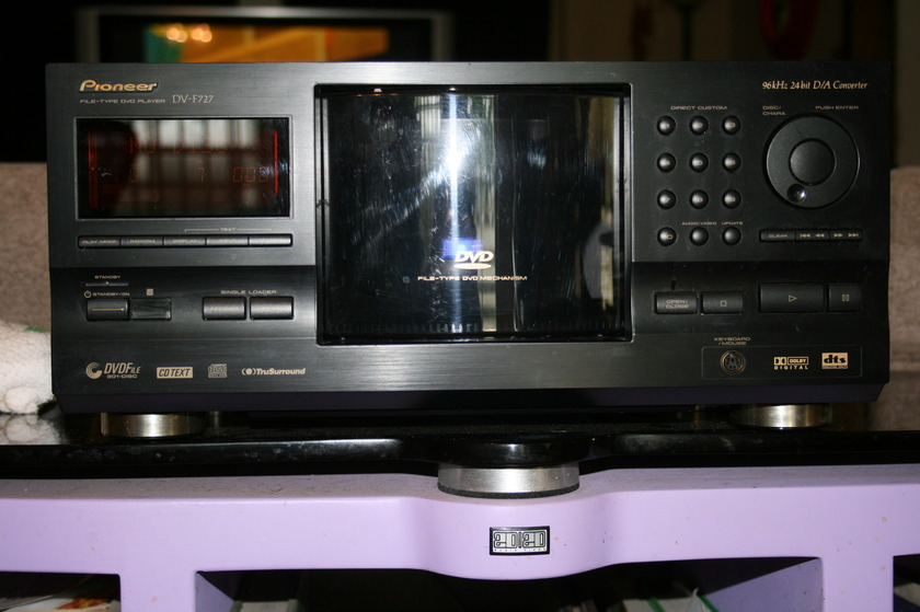 Pioneer DVF727 File type DVD player