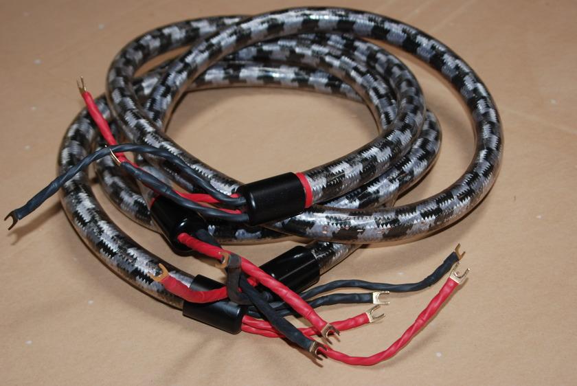 Straight Wire Crescendo 8ft BiWire Spades