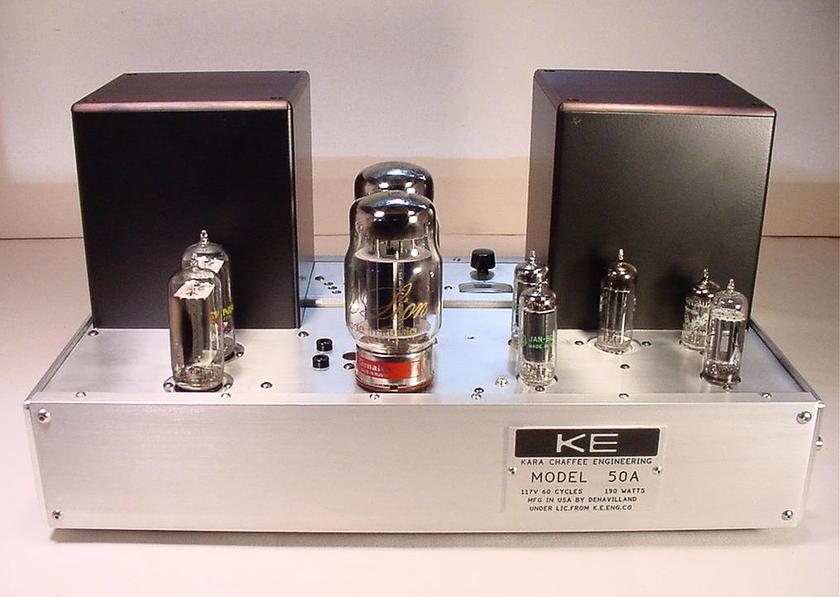 deHavilland Electric Amplfier Company 50A's 45 Watts In Full Triode