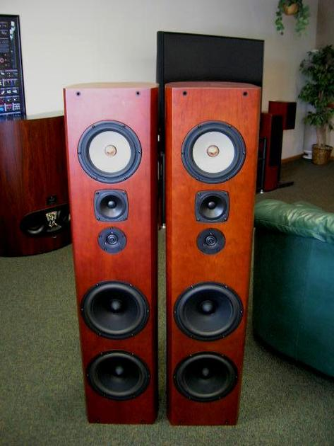 Krell Resolution One Red Cherry Finish