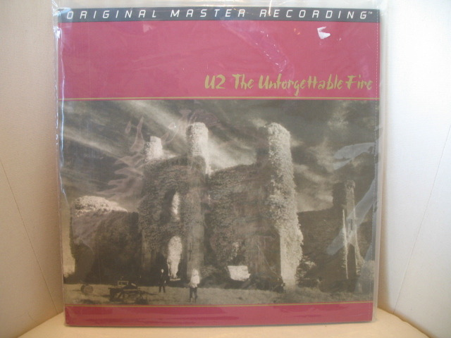 U2 - The Unforgettable Fire MFSL 1-207>>>Still Sealed<<<