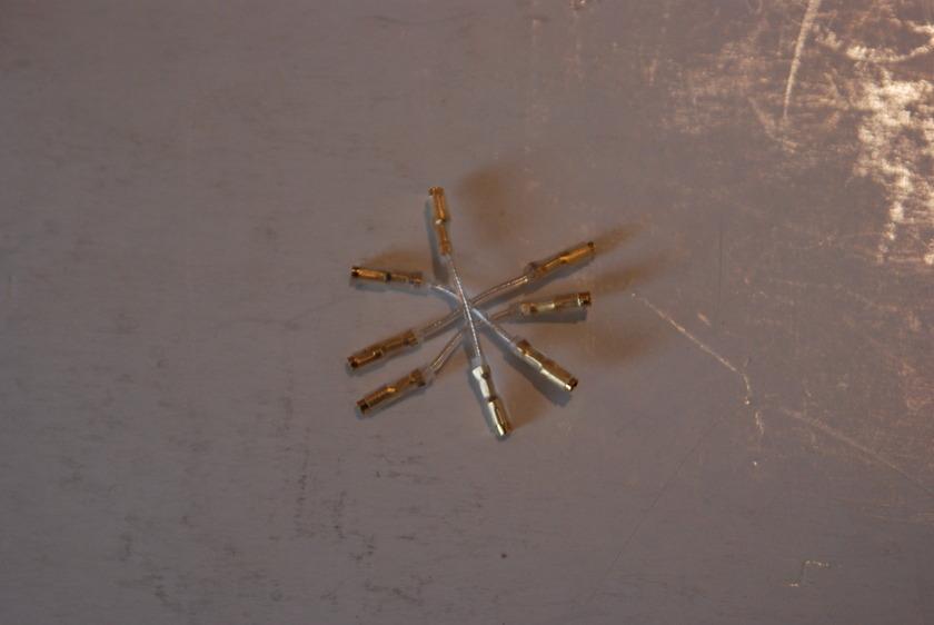 Ortofon Silver Cartridge leads  30mm