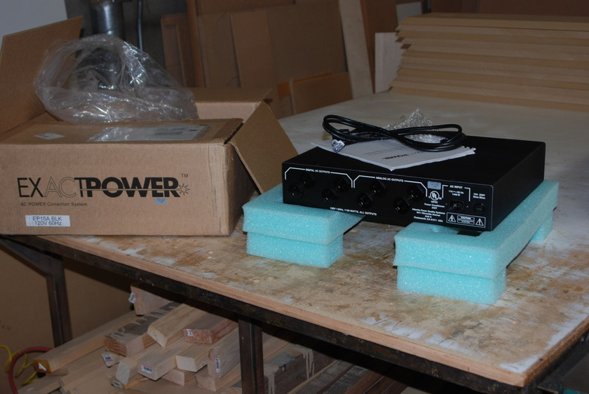 Exact Power EPA15 Power Conditioner  Black