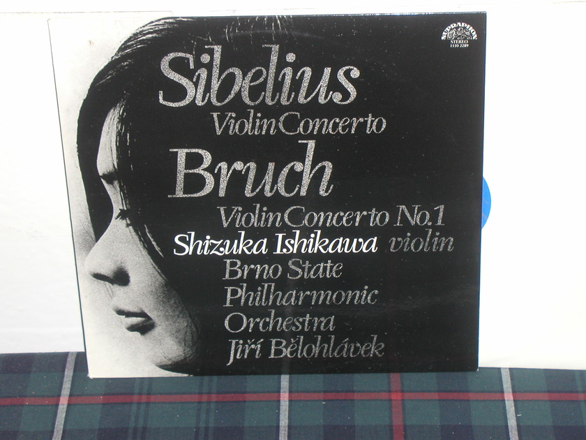 Ishikawa/Belohlavek - Sibelius Violin Cto Supraphon inport