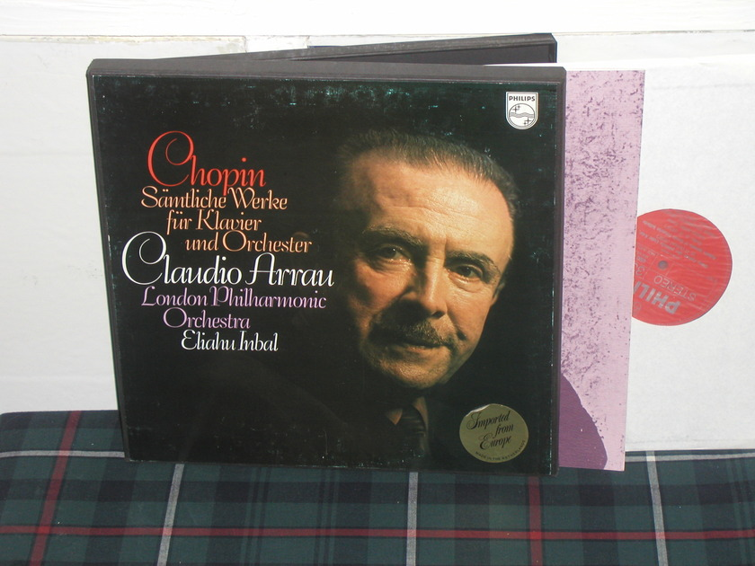 Arrau/Inbal/Lpo - Chopin Works for Pno Philips Import 3LP  6500
