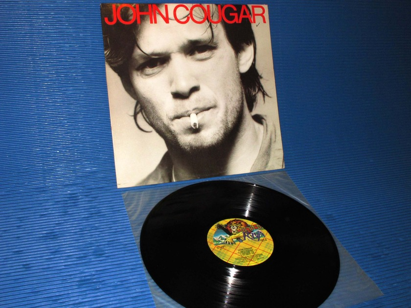 "JOHN COUGAR (MELLENCAMP) - - ""Self Titled"" - Riva 1979 1st press"