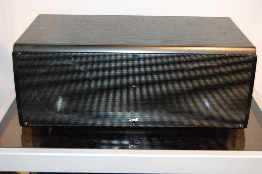 Snell CR.5 Center Channel Speaker in Black Ash