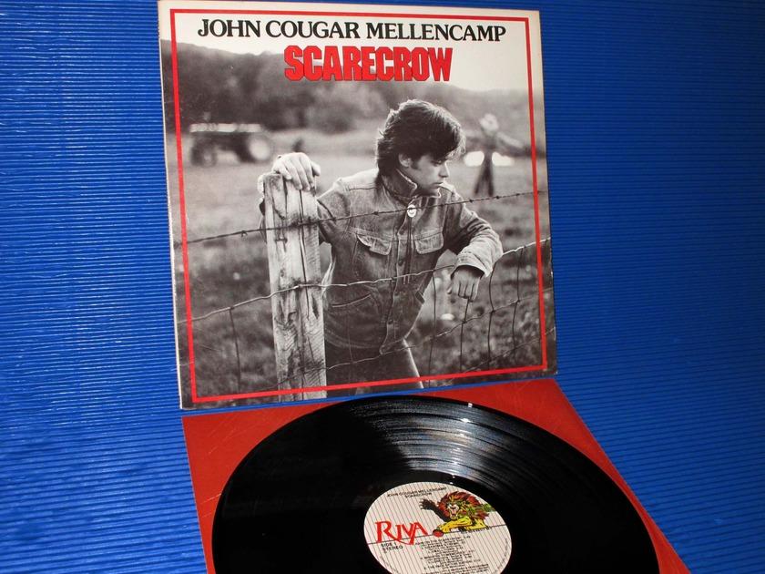 """JOHN COUGAR (MELLENCAMP) - - """"Scarecrow""""  - Riva 1985 R Ludwig"""