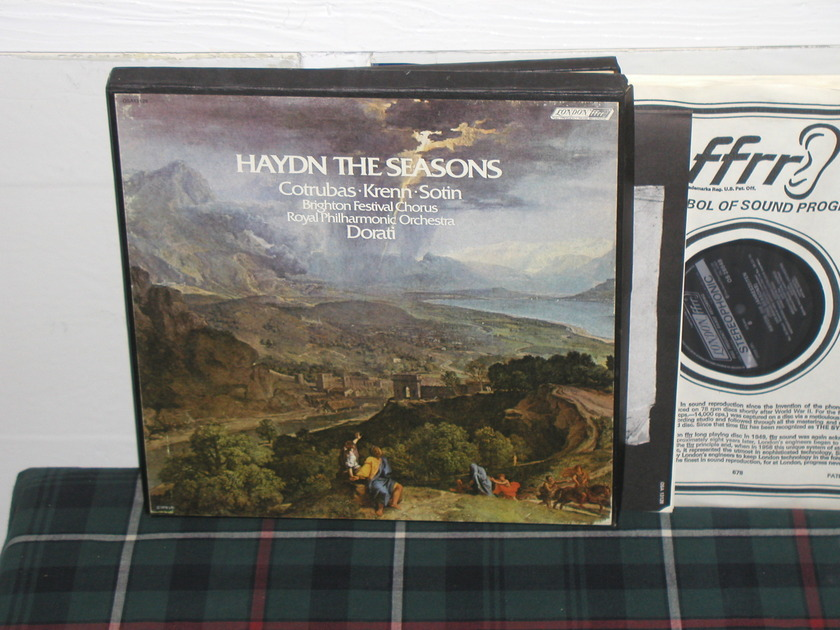Dorati/Brighton Fest - Haydn The Seasons London 3 lp box
