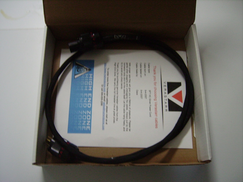 Verastarr HC Silver Power Cord 5 Ft.
