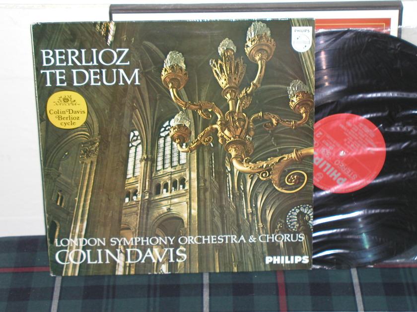 Davis/LSO - Berlioz Te Deum Philips Import LP 839 ay