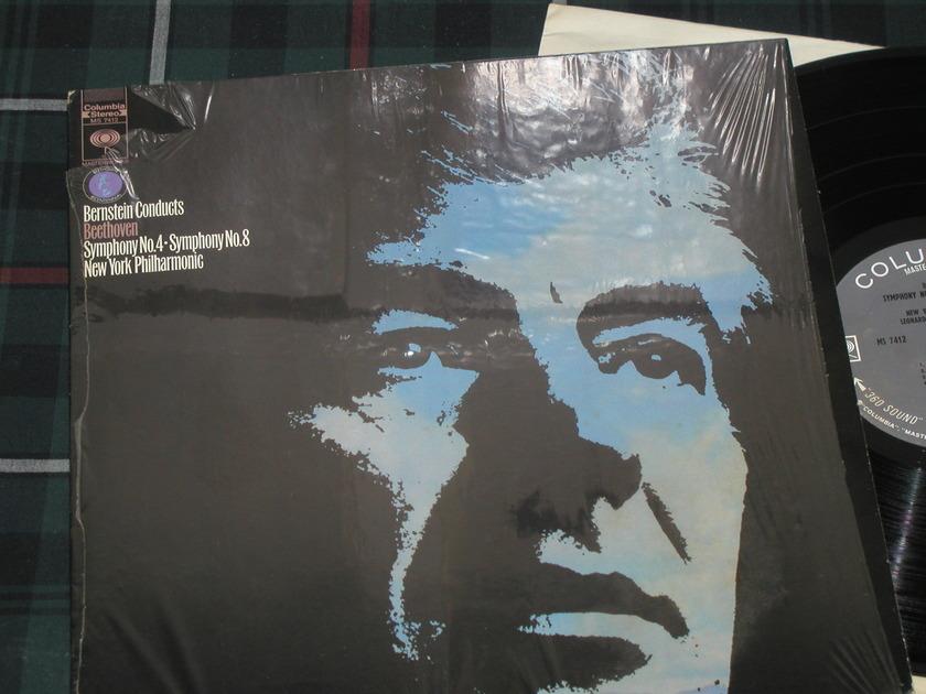 Bernstein/NYPO - Beethoven 4/8 Columbia 360 1st labels