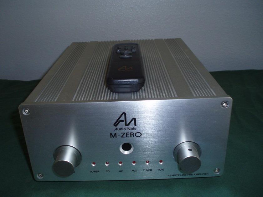 Audio Note M-Zero R Preamp