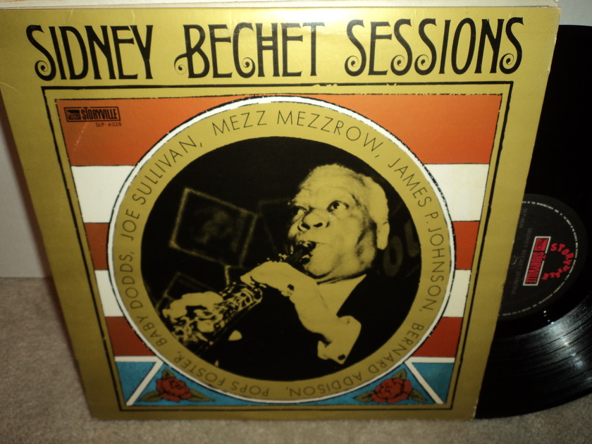 Sidney Bechet Sessions - 1968 Storyville Records  NM