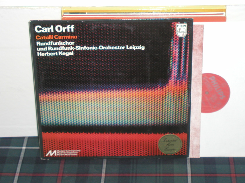 Kegel/Rsol - Orff Catulli Carmina Philips Import LP 6500