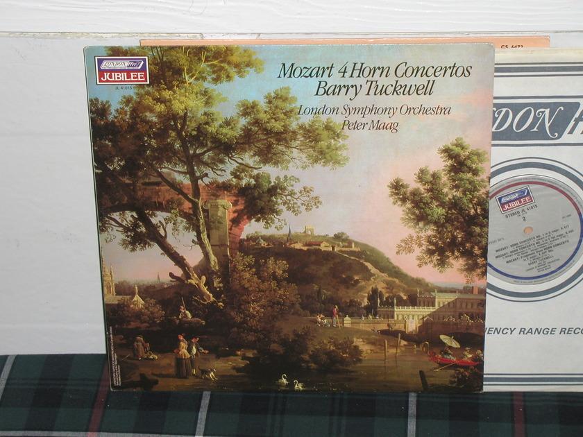 Maag/LSO - Mozart 4 Horn Ctos London Jubilee/Holland press