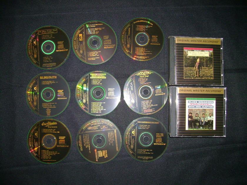 ROCK/POP  - GOLD CDS MFSL/DCC/LEGACY/OTHERS