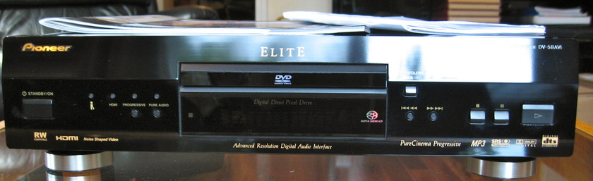 Pioneer Elite DVD Player w/ HDMI output