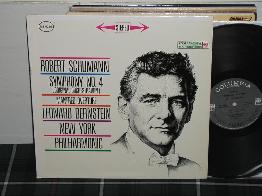 Bernstein/NYPO - Schumann No.4 Columbia Black 360 no arrows