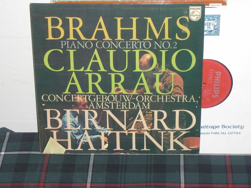 Haitink/COA - Brahms Pno Cto 2 Philips Import Pressing 6500
