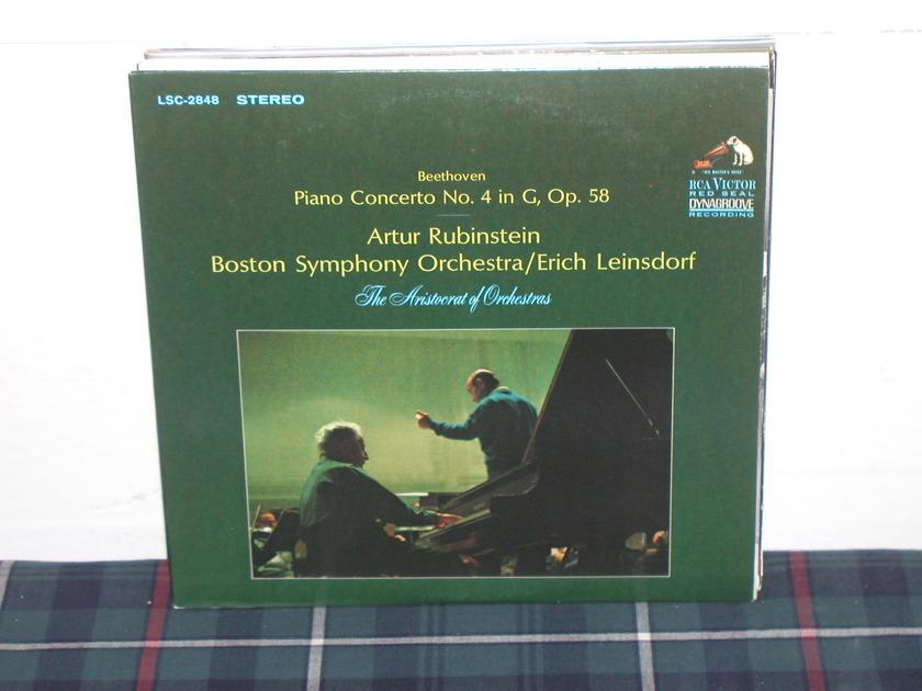 Rubinstein/Leinsdorf - Beethoven Pno Cto 4 RCA LSC 2848