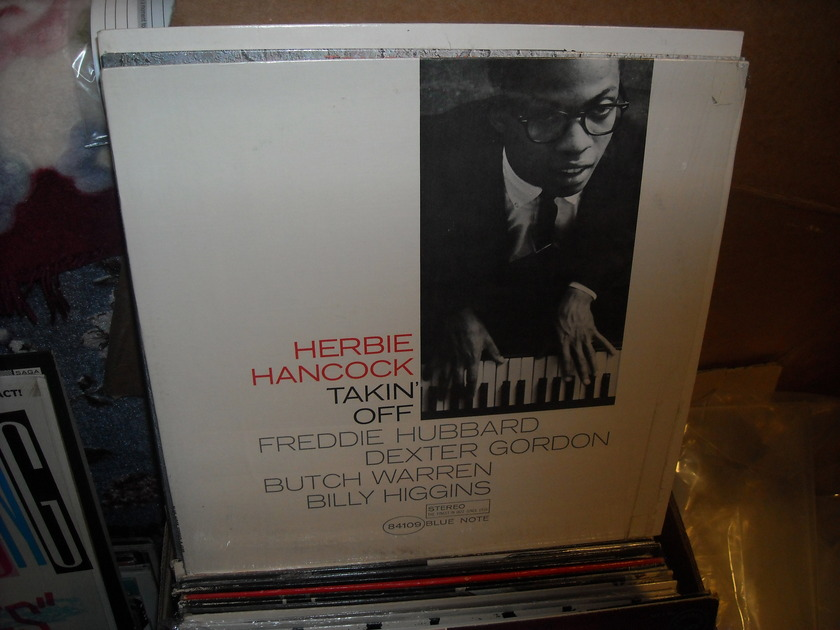 (lec) Herbie Hancock -  Takin' Off Blue Note LP (c)