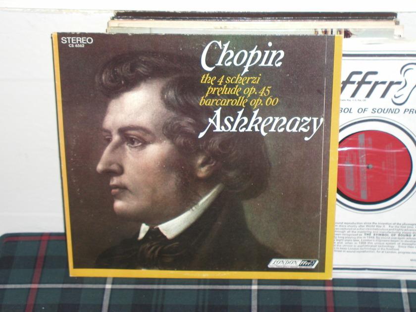 Askenazy - Chopin 4 scherzi London ffrr uk decca cs6562