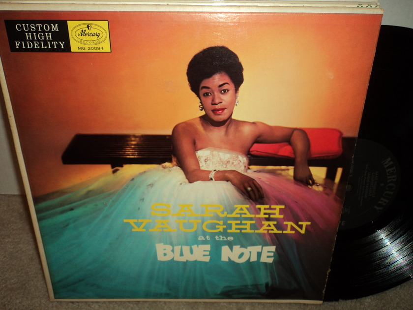 Sarah Vaughan at the Blue Note - Make Yourself Comfortable  Mercury MG 20094 Mono