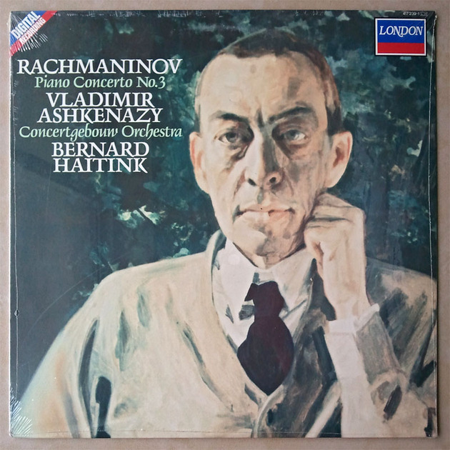 SEALED London Digital | ASHKENAZY/RACHMANINOFF - Piano Concerto No. 3