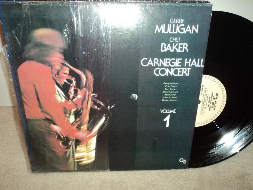 Gerry Mulligan & Chet Baker - Carnegie Hall Concert Vol. 1 CTI - NM