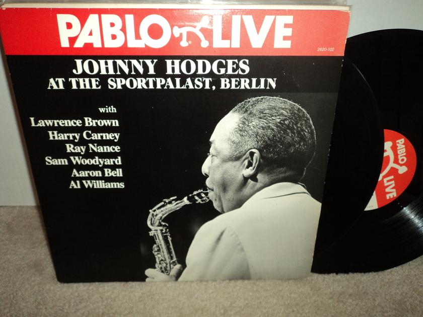 "Johnny Hodges  - ""At The Sportpalast, Berlin"" 2LP set Pablo Live  NM"