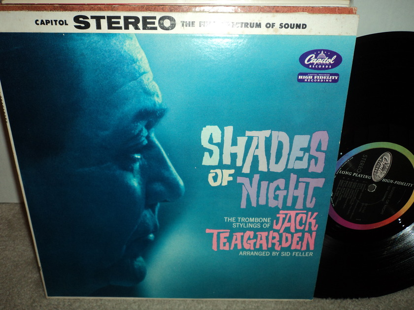 "Jack Teagarden  - ""Shades of Night""  Capitol Colorband Long Playing NM"