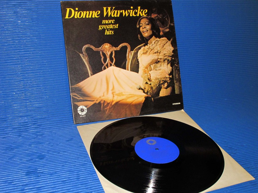"DIONNE WARWICKE  - - ""More Greatest Hits"" - Spring Board 1977"
