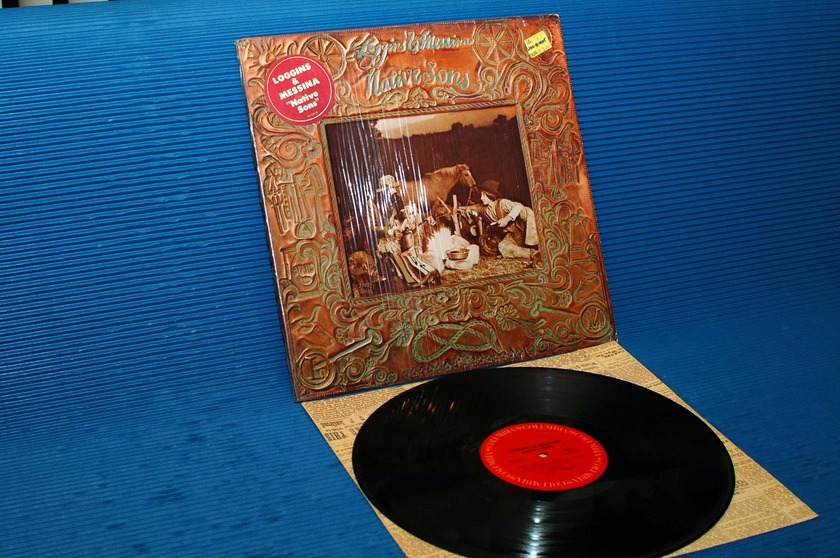 """LOGGINS AND MESSINA -  - """"Native Sons"""" - CBS 1976 1st pressing"""