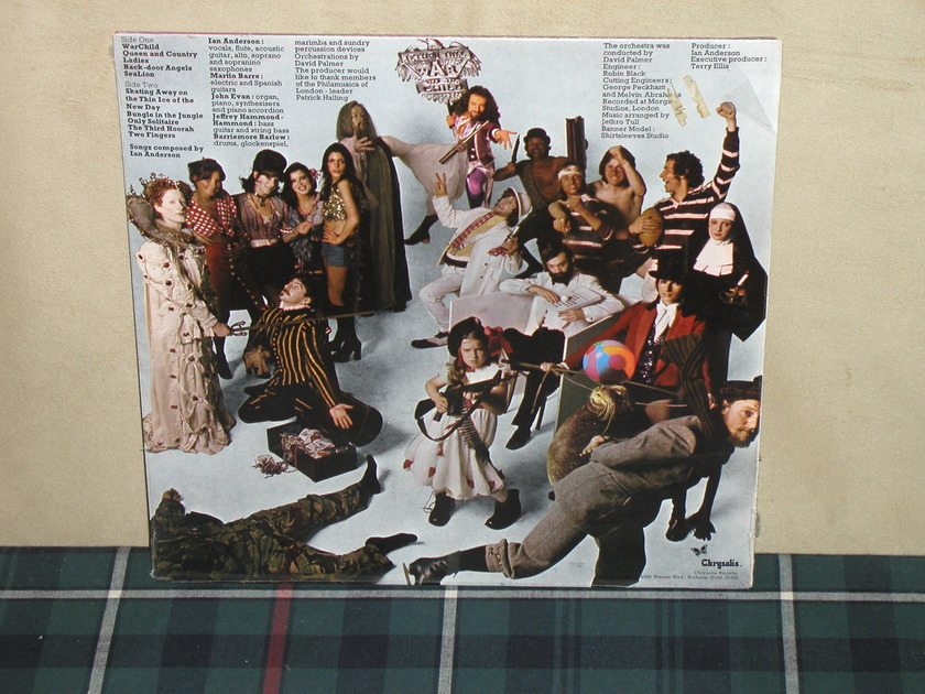 Jethro Tull - War Child SEALED w/Sticker Chrysalis CHR-1067 from 1975!