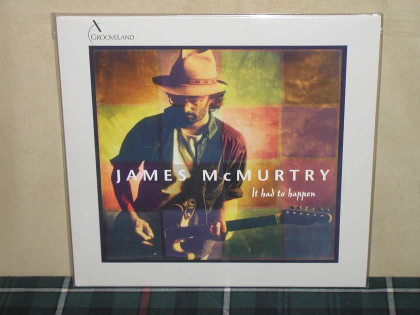 James McMurtry - It Had To Happen Grooveland 180g GL105 AS NEW
