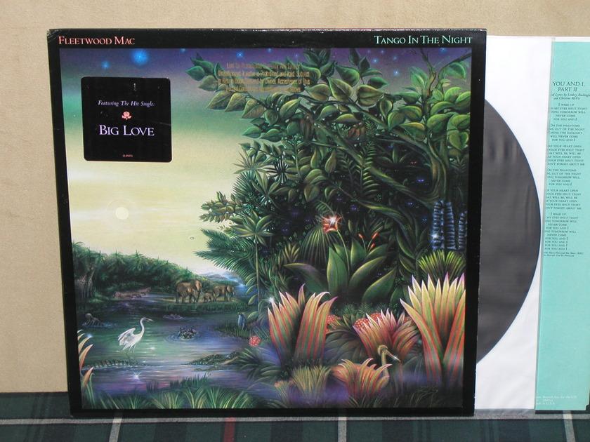 Fleetwood Mac - Tango In The Night PROMO w/sticker and Gold PROMO stamp