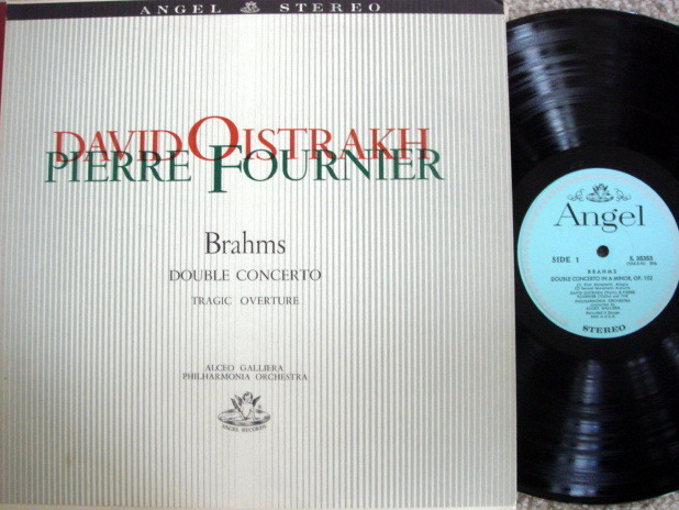 EMI Angel / FOURNIER/OISTRAKH, - Brahms Double Concerto, NM!